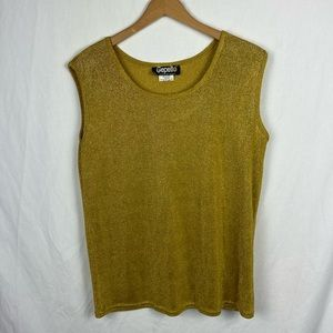 Vintage Gold Gepetto Tank Top